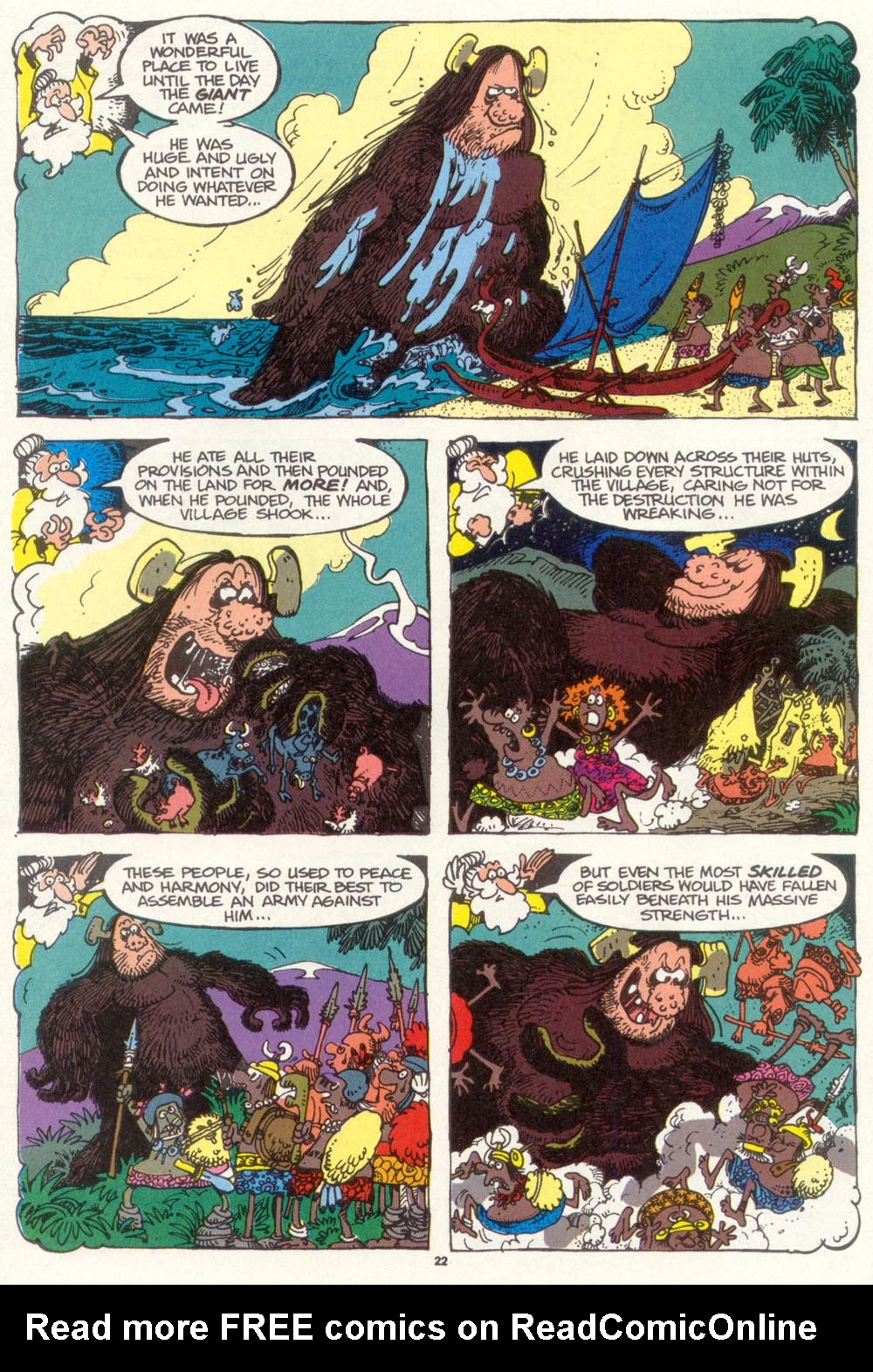 Read online Sergio Aragonés Groo the Wanderer comic -  Issue #97 - 23