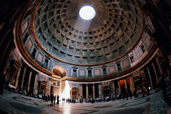 Scm Waterproof Porous Pantheon Oculus