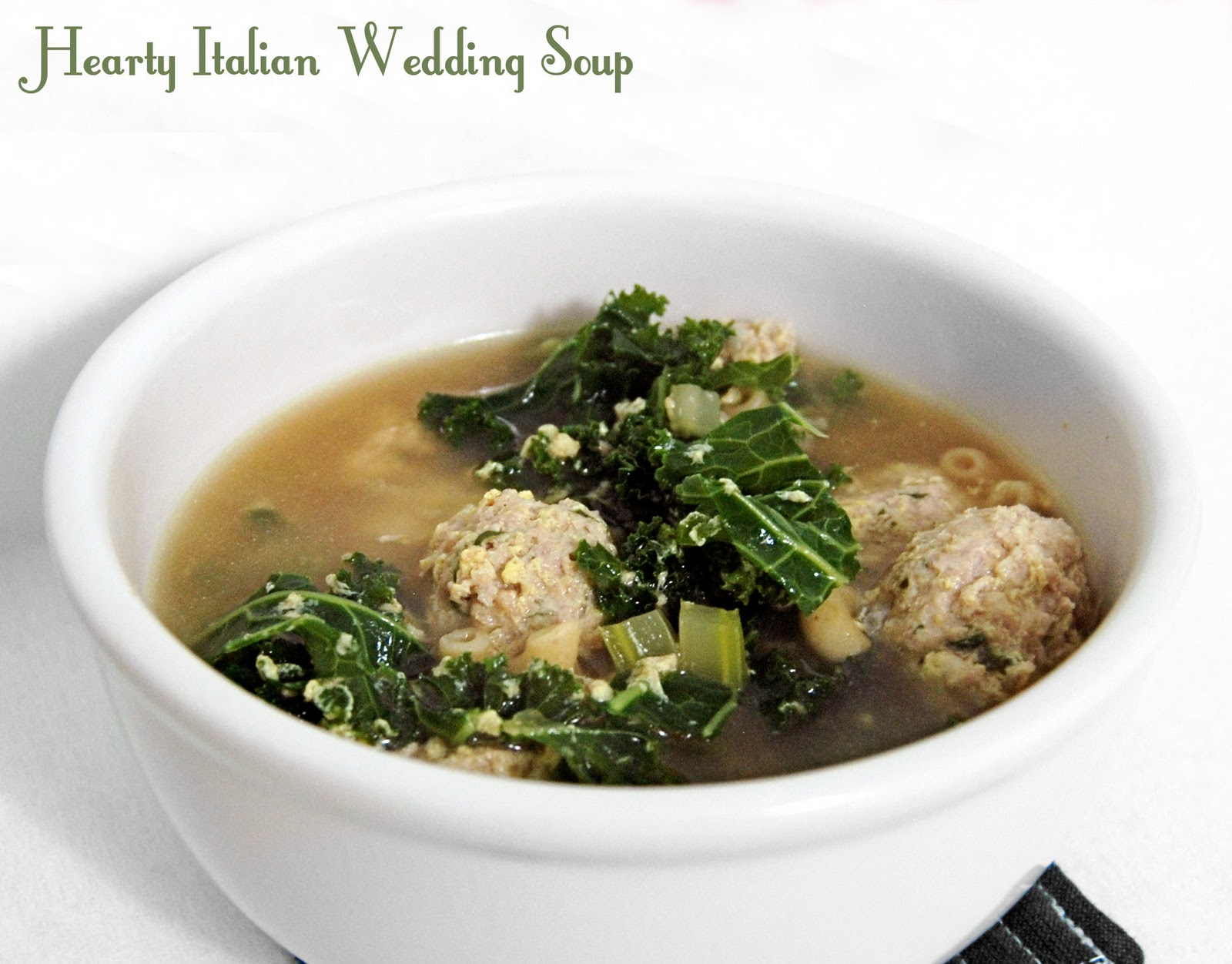 Rural Housewife: Hearty Italian Wedding Soup - With Mega ...