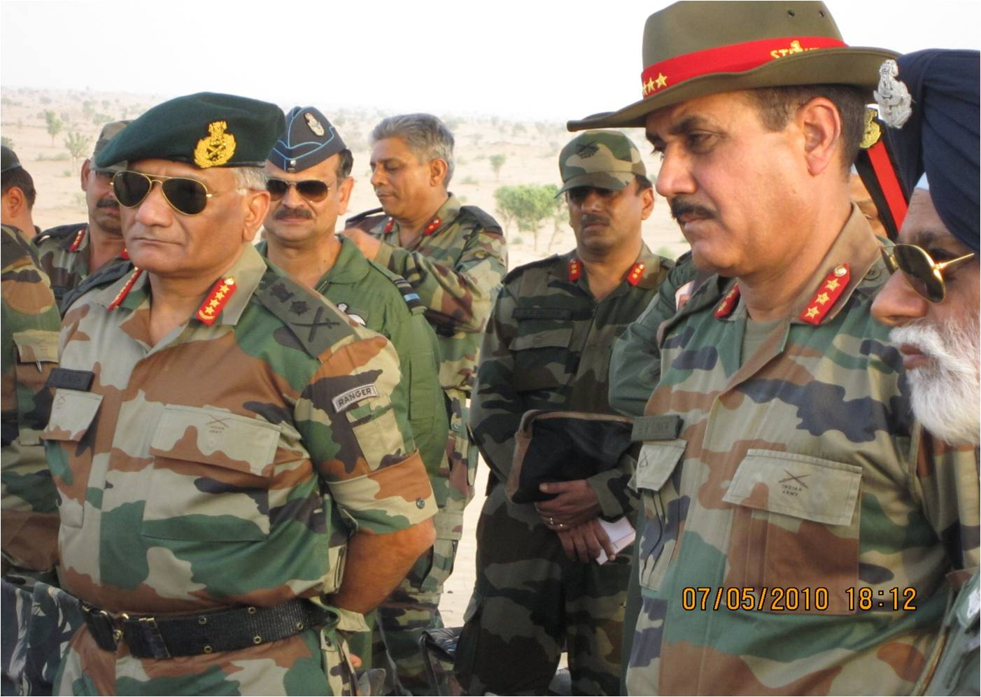PHOTOS: Indian Army Chief Visits Strike Corps For Exercise