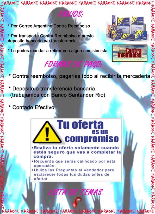 KARAOKE PC/DVD (Buenos Aires)