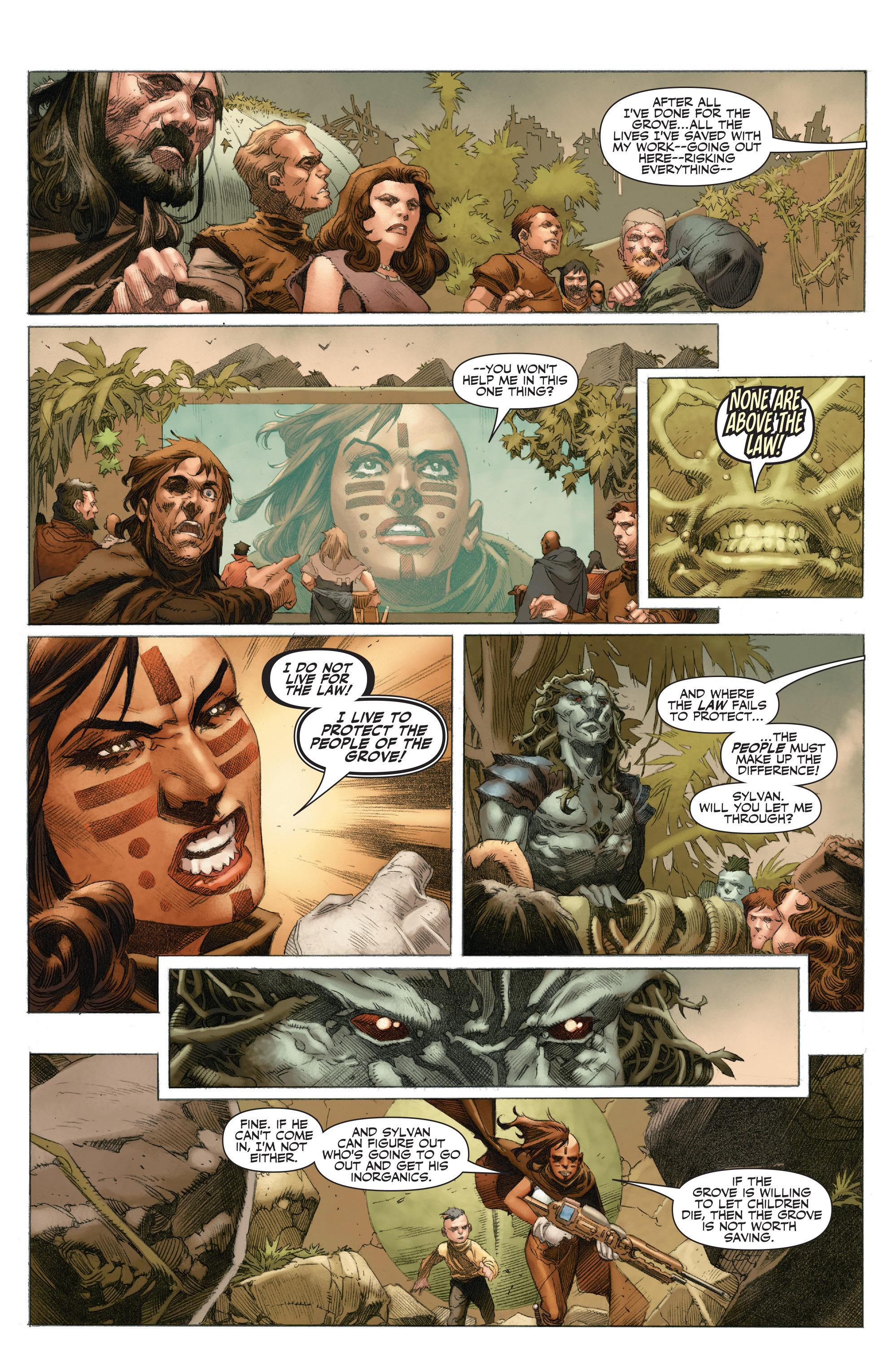 Read online 4001 A.D.: War Mother comic -  Issue #4001 A.D.: War Mother Full - 24