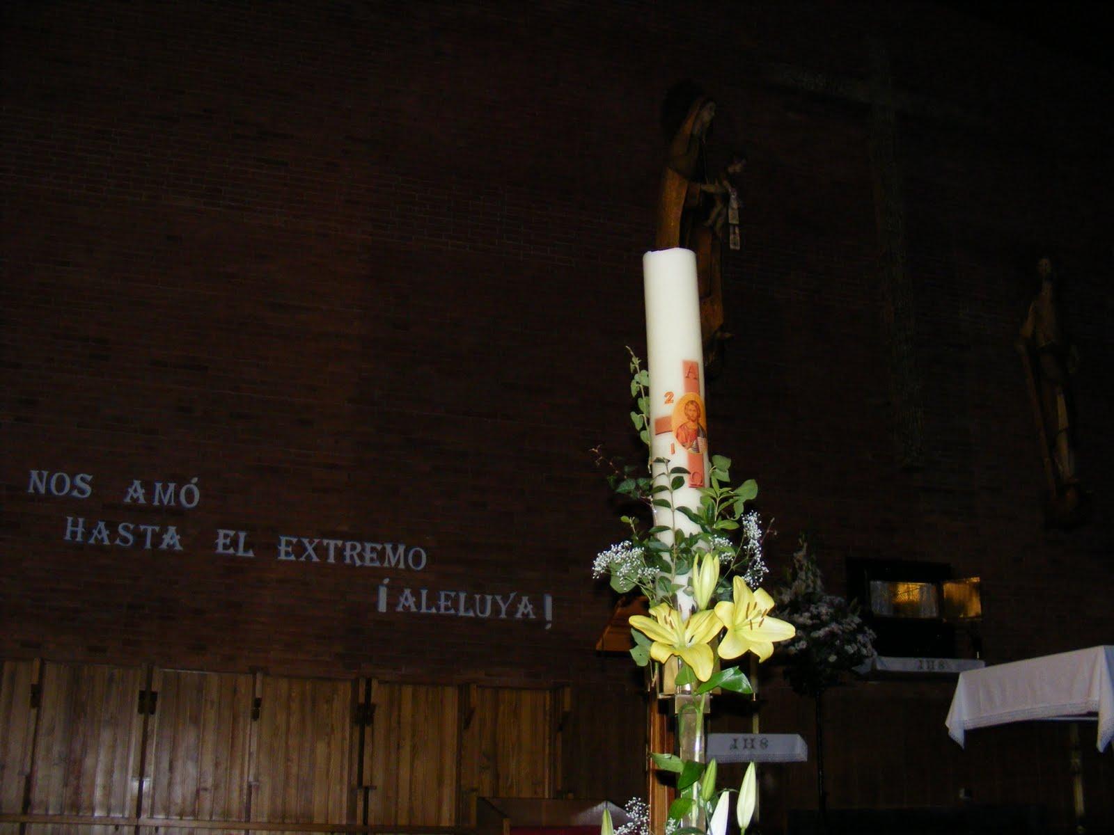 Anna Santos Abril 2010: PP. Carmelitas Descalzos Reinosa: Abril 2010