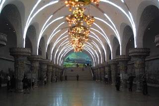 best website 079c4 5e33b I den nordkoreanska huvudstaden Pyongyang finns en magnifik tunnelbana,  precis som i de forna kommunistländerna är kristallkronor eller pompösa ...