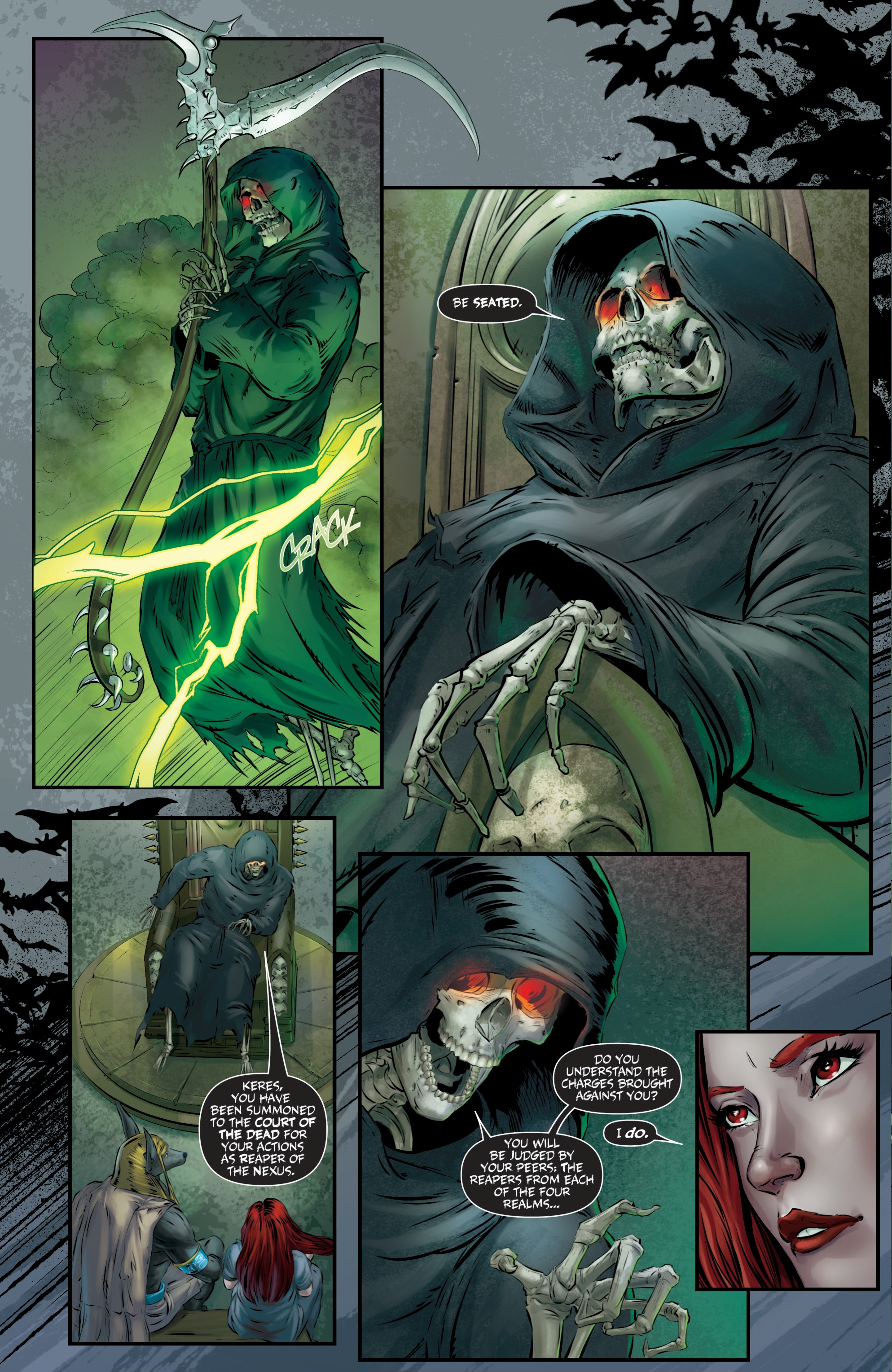 Read online Grimm Fairy Tales presents Death comic -  Issue # Full - 12