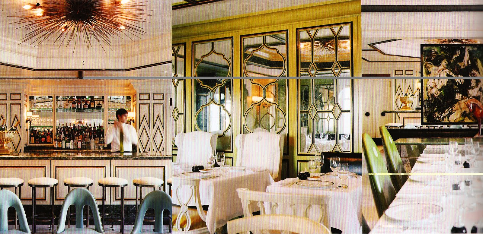 Wonderland Philosophy Bergdorf Goodman Restaurant Amp The