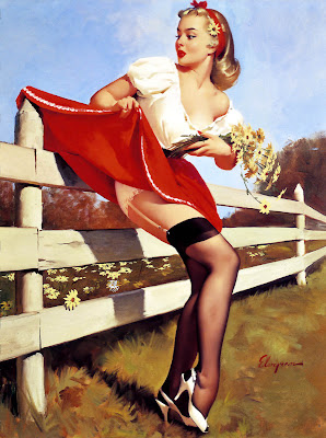 Gil Elvgren y las chicas Pin-up