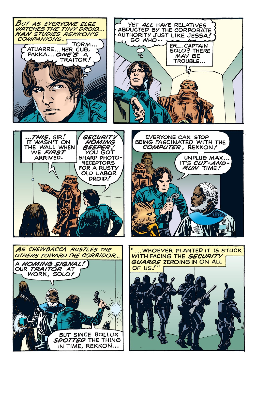 Read online Star Wars Legends: The Newspaper Strips - Epic Collection comic -  Issue # TPB (Part 4) - 29