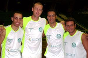 8b4ca0227dca4 ECOFIT E PALMEIRAS. Voleibol do Verdão fecha parceria ...