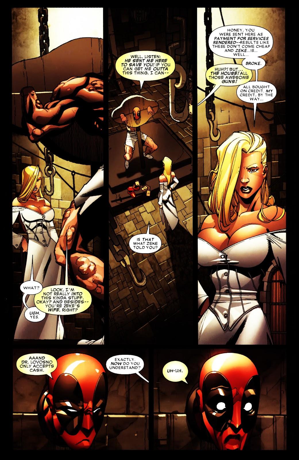 Read online Deadpool (2008) comic -  Issue #5 - 4