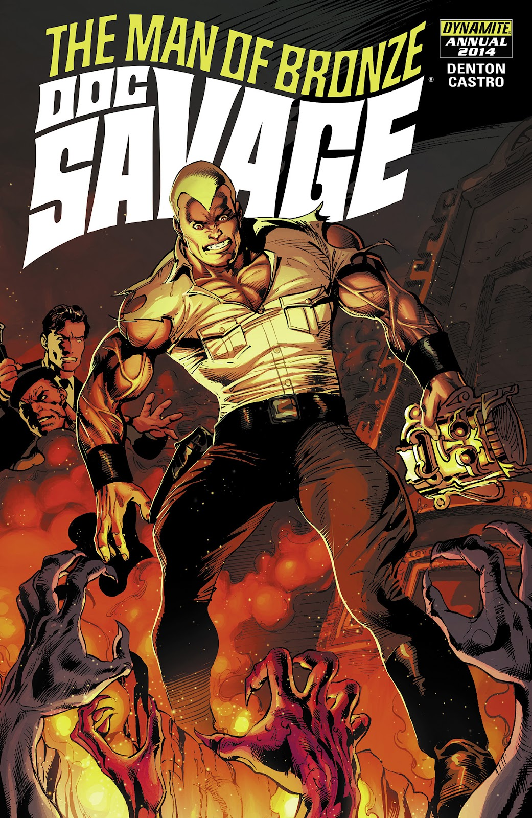 Doc Savage (2013) issue _Annual - Page 1