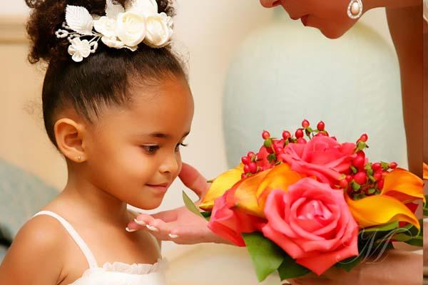 Beautiful Girl Interracial