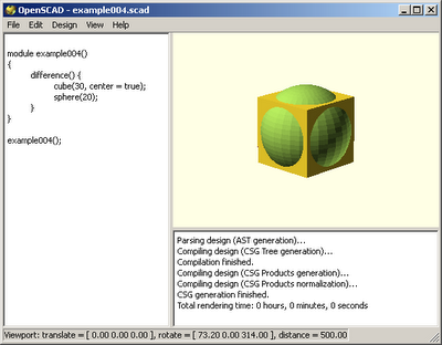 SketchUp Plugins and Blog: OpenSCAD - The Programmers Solid
