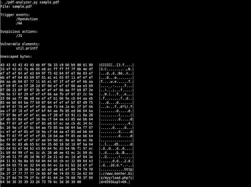 Analysis of malicious PDF files | eternal-todo com