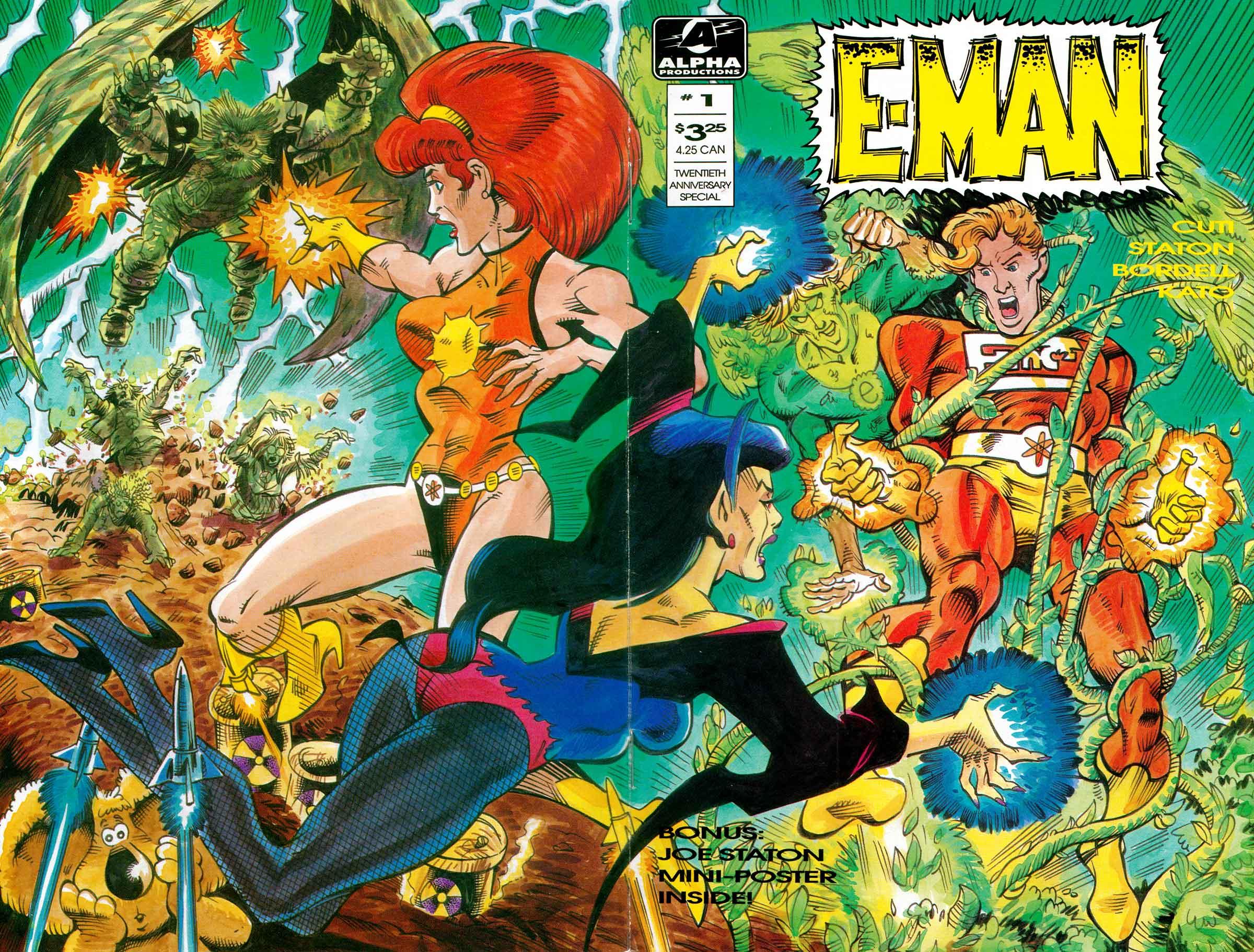 Read online E-man (1993) comic -  Issue # Full - 2
