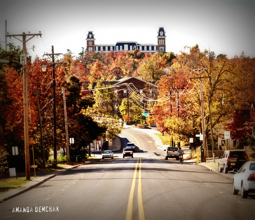 Fayetteville Arkansas: Click Click Zoom Photography: Fall Day At University Of