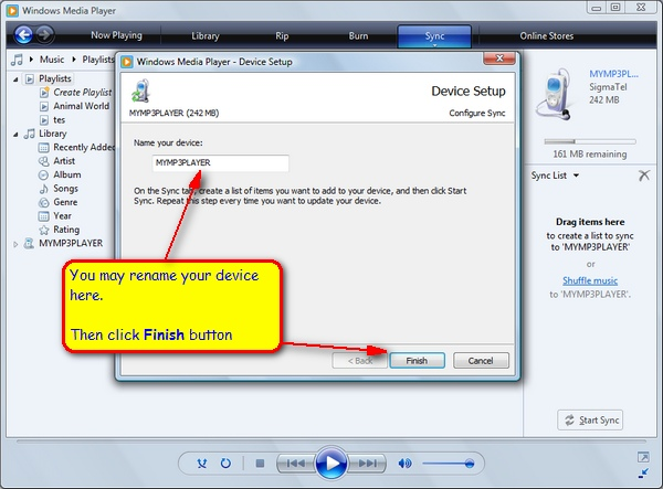 Information & Tutorial: Learn Vista - Synchronizing Media ...