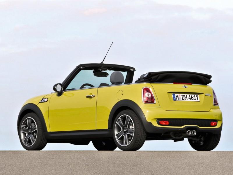top cars 2009 mini cooper s cabrio. Black Bedroom Furniture Sets. Home Design Ideas