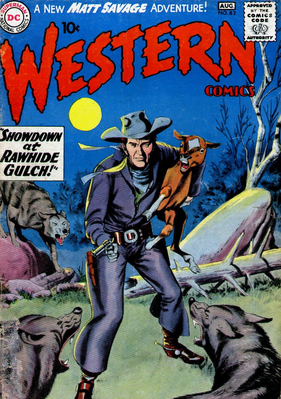 Western Comics 82 Page 1