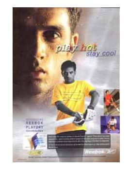 Rahul Dravid,Reebok,Play Cool, AIDA model