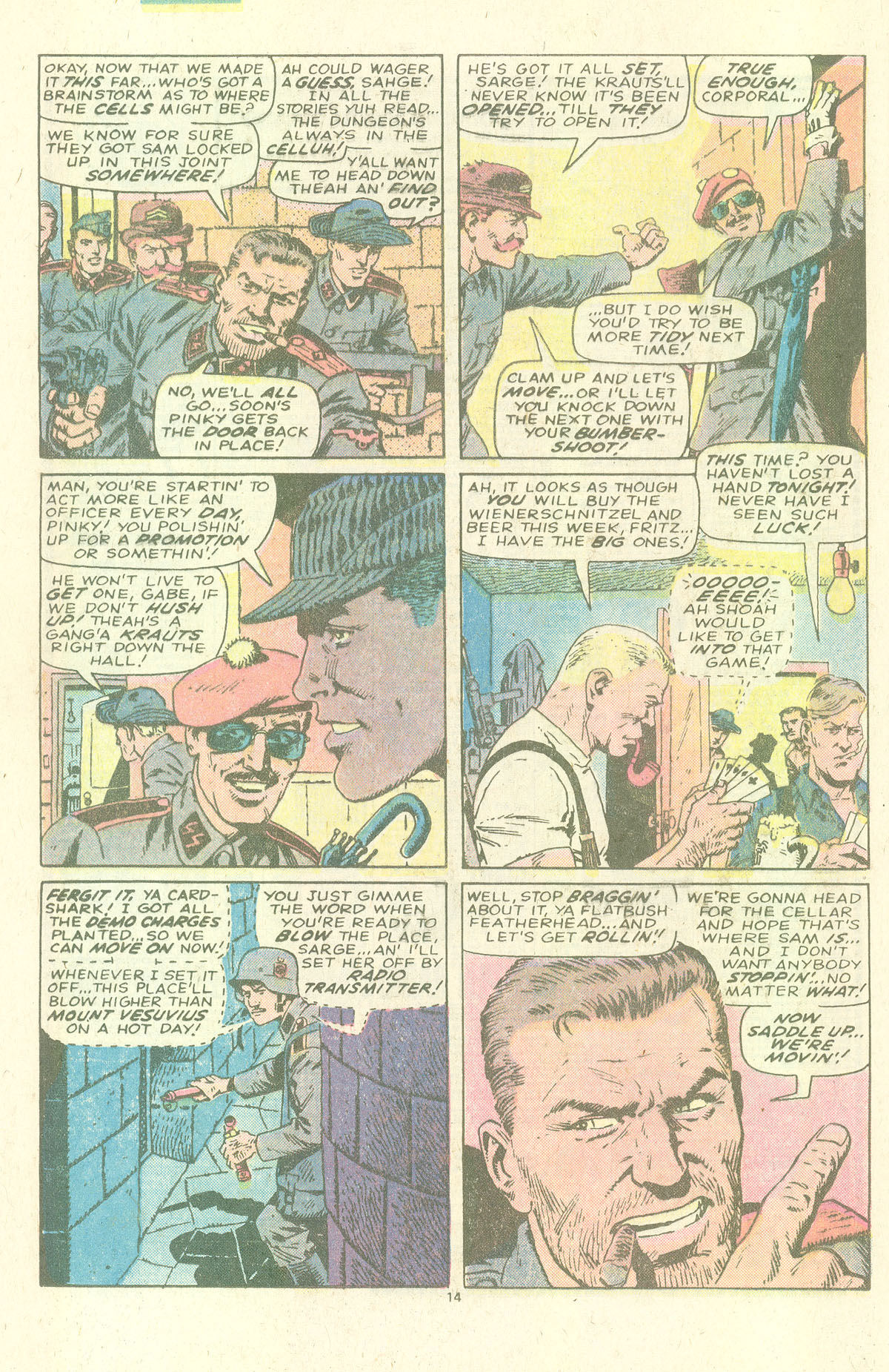 Read online Sgt. Fury comic -  Issue #157 - 16