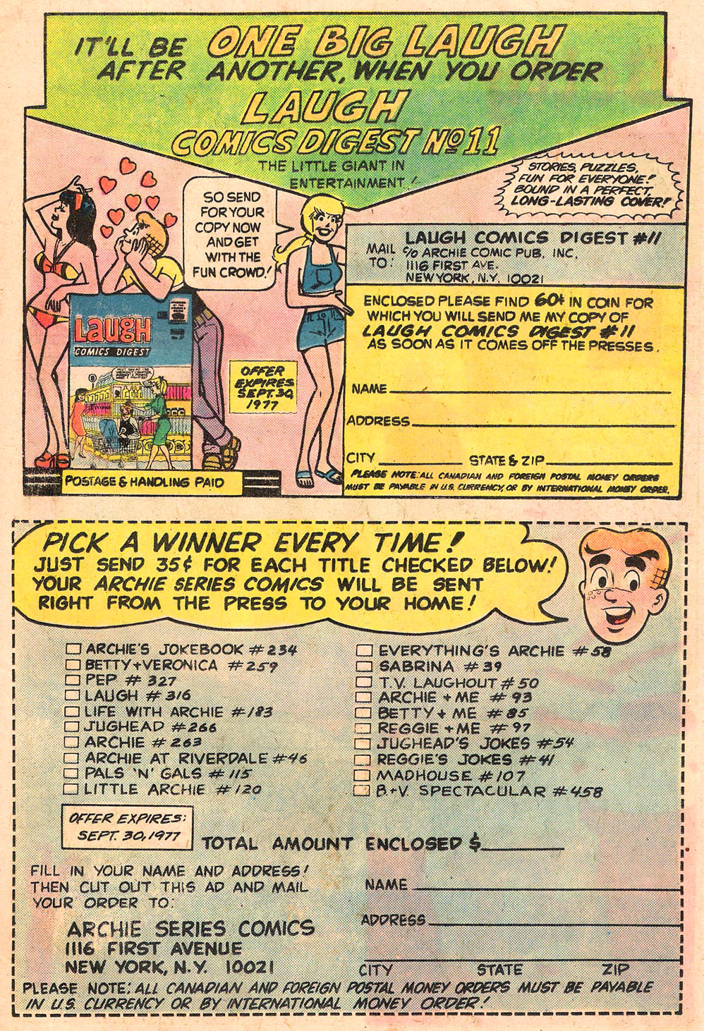 Read online Archie's Girls Betty and Veronica comic -  Issue #258 - 19