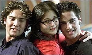 l-r. Bisbal, Rosa, Bustamante