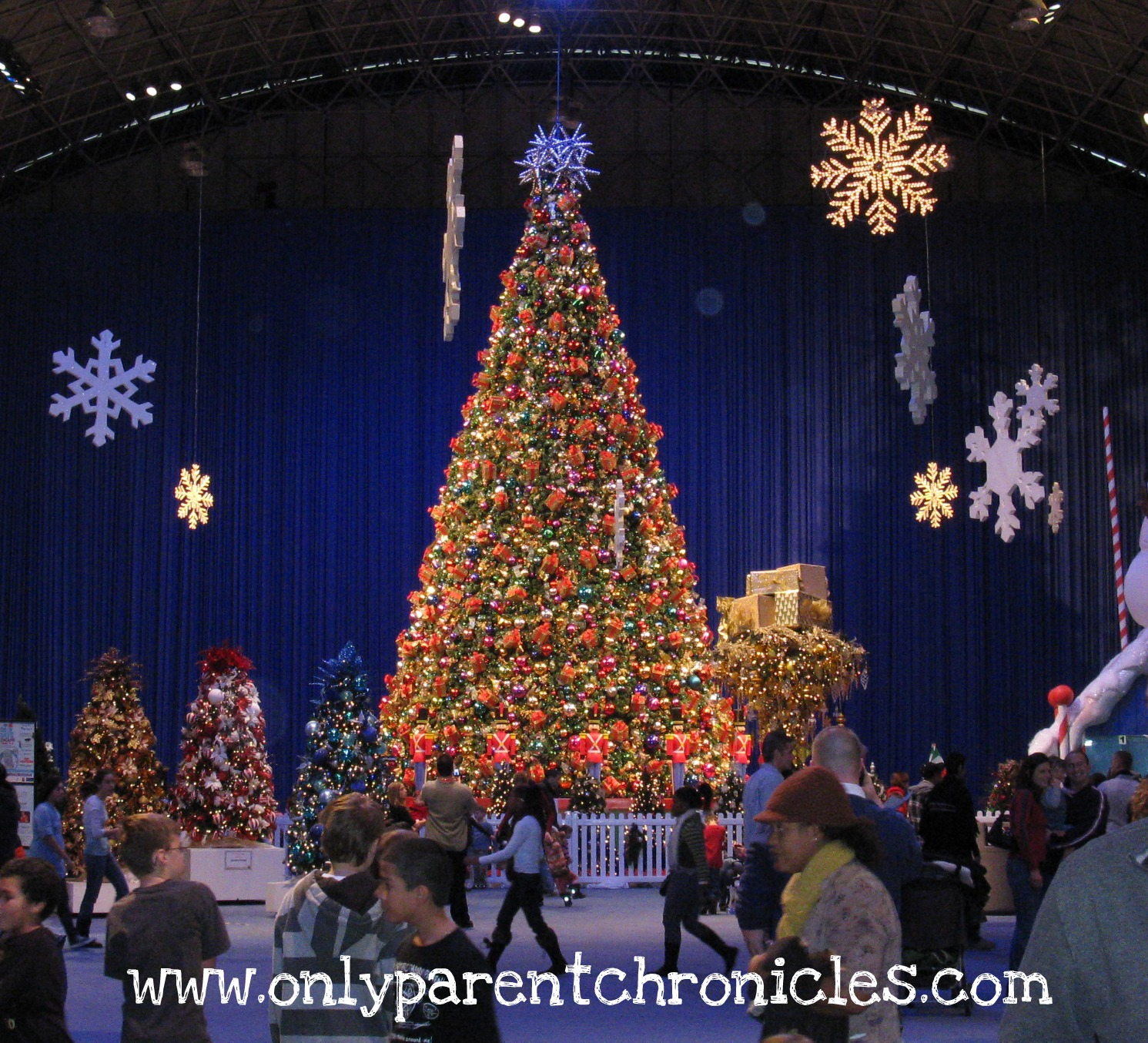 Only Parent Chronicles I Went To Navy Pier At Christmastime