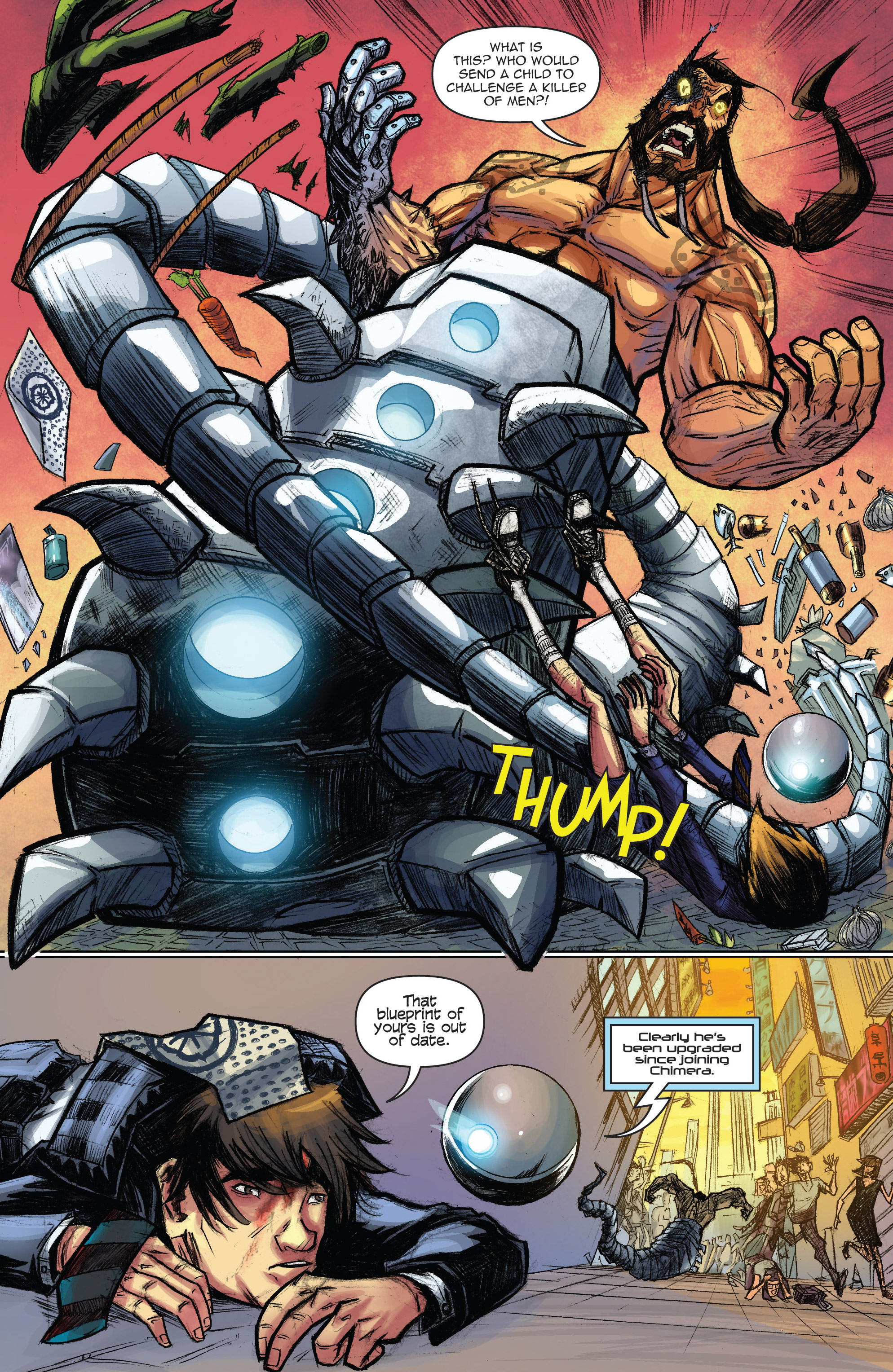 Read online Infinite Seven comic -  Issue #3 - 19