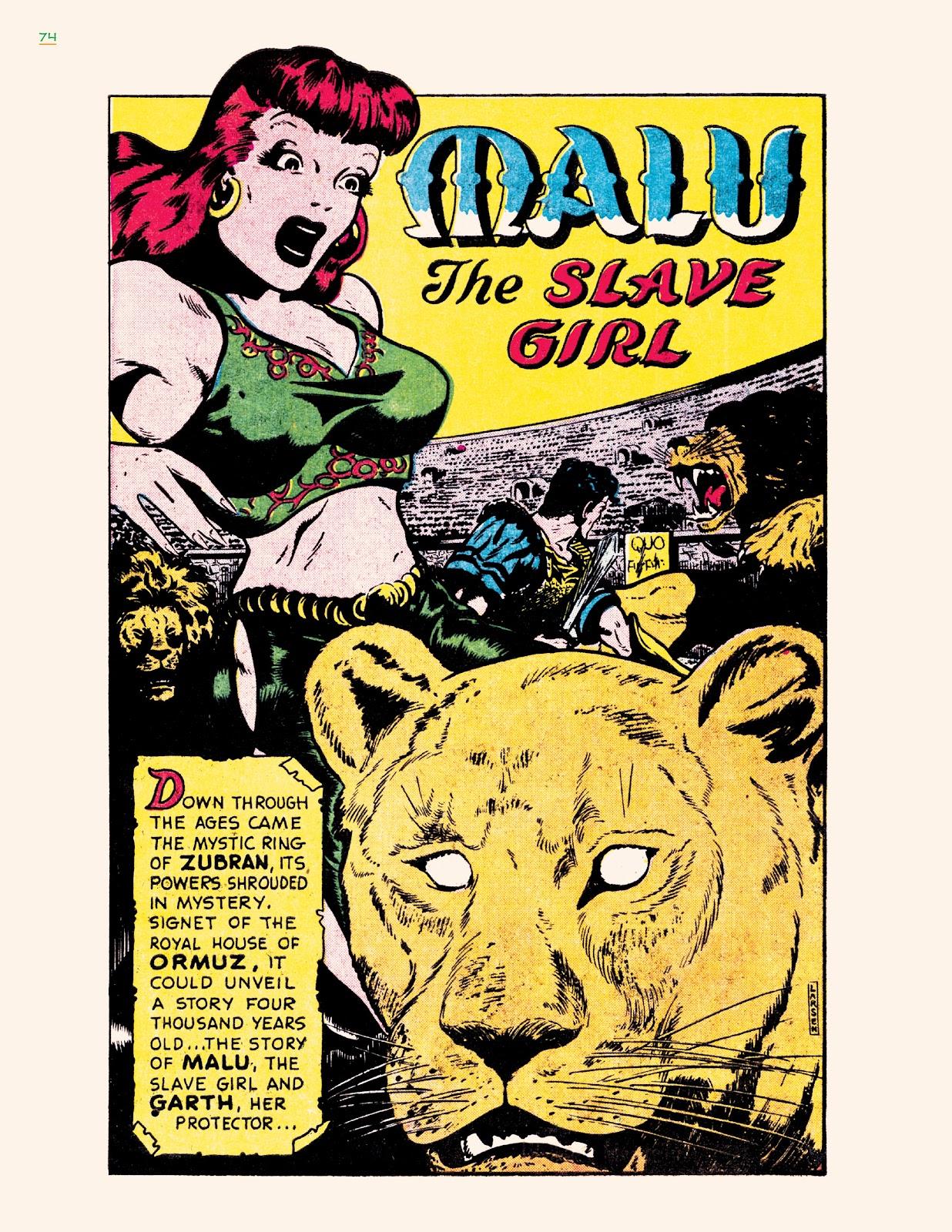 Read online Jungle Girls comic -  Issue # TPB (Part 1) - 74