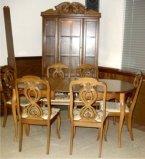 French Dining Room Set: Cash It, Stash It, Or Trash It: French Provincial Dining