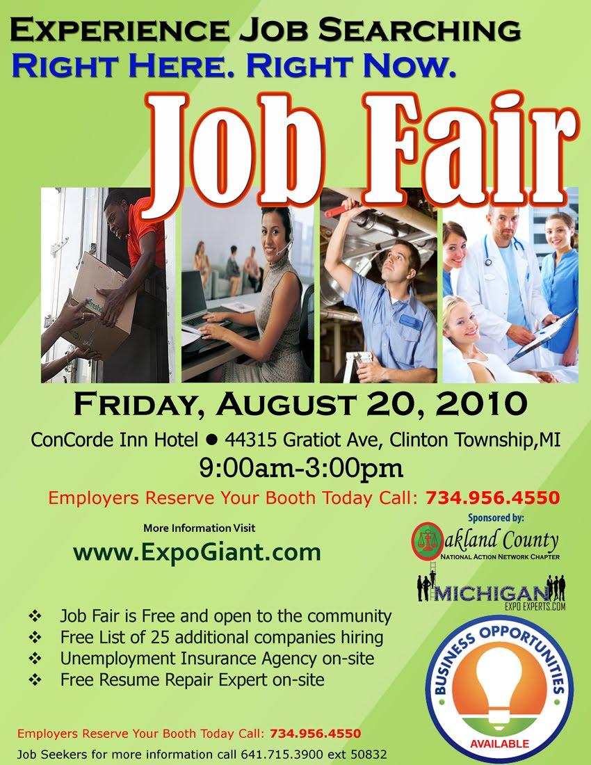 jobfairgiant com blog macomb county job fair