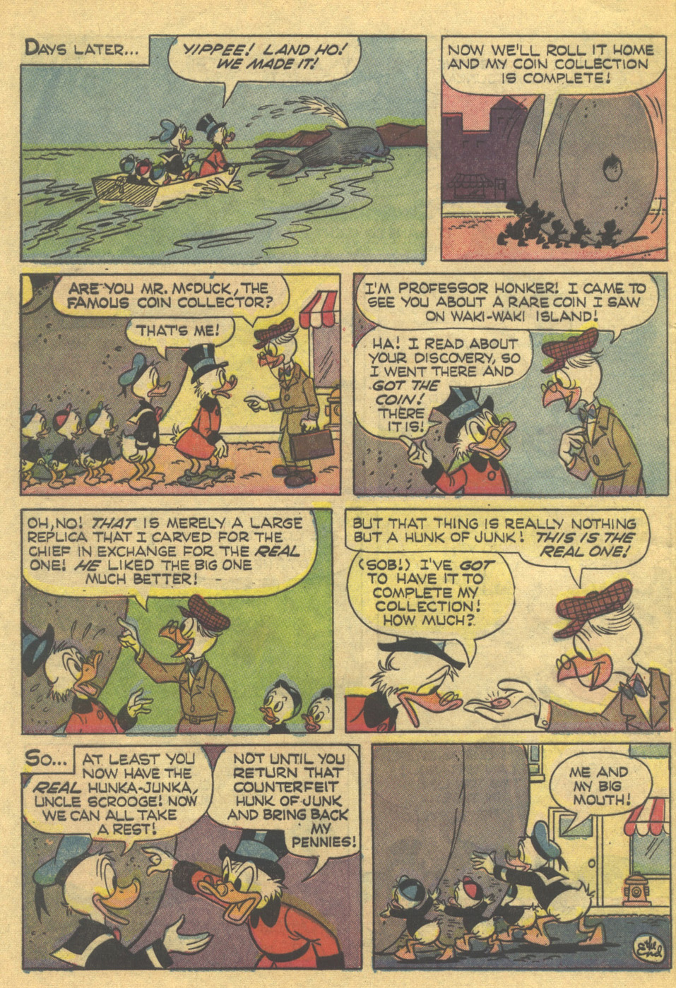 Read online Uncle Scrooge (1953) comic -  Issue #83 - 32