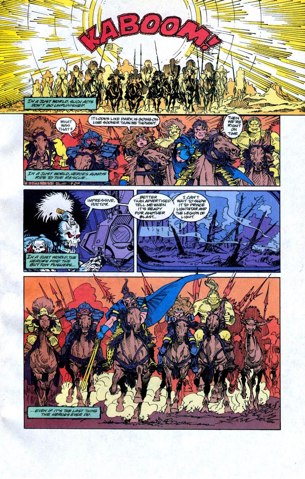Skeleton Warriors Issue #4 #4 - English 17