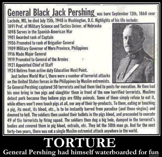 Philippines Black Pershing General Jack