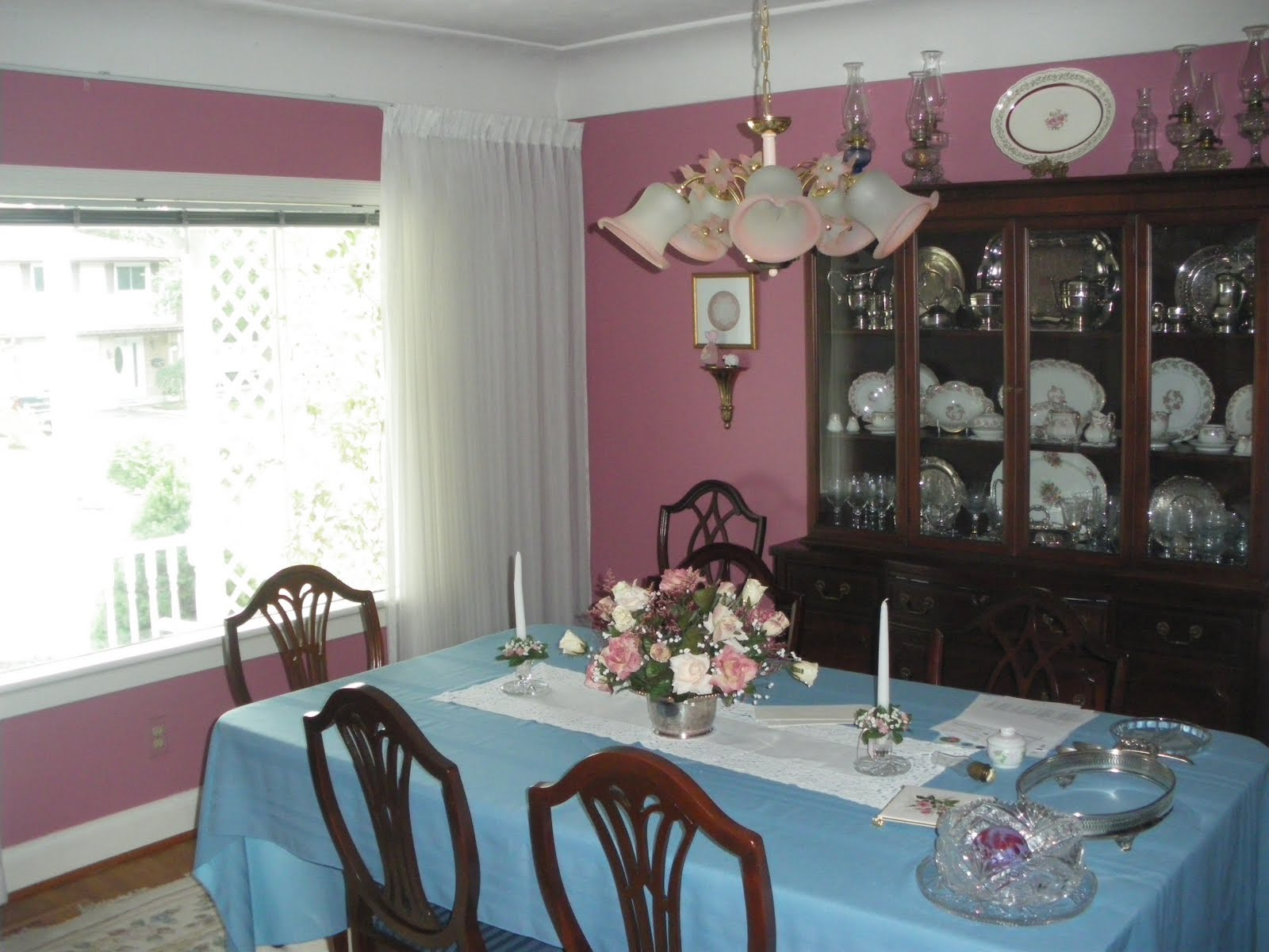Holly Woelfle Traditional Dining Room Makeover