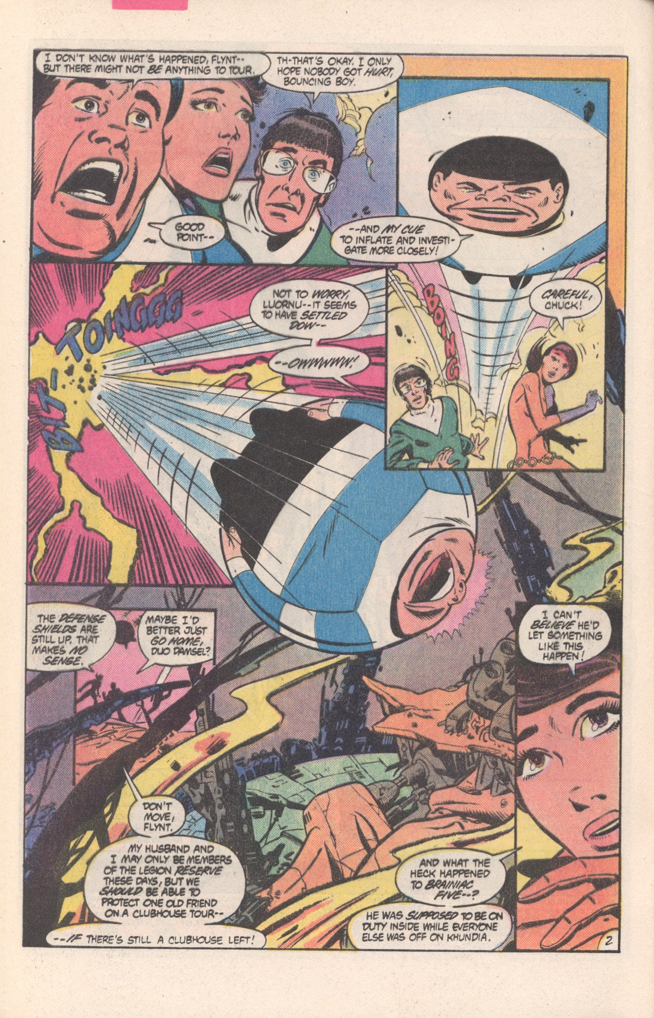 Legion of Super-Heroes (1980) 311 Page 2
