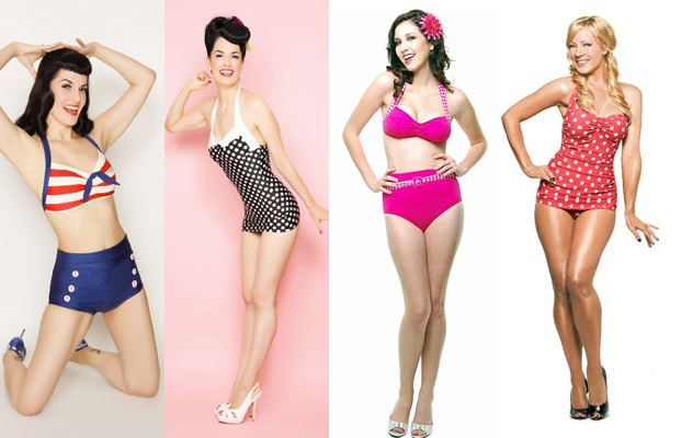 All Things Fun Cute and Darling  Cute  Retro Bathing Suits 6d359e6bc