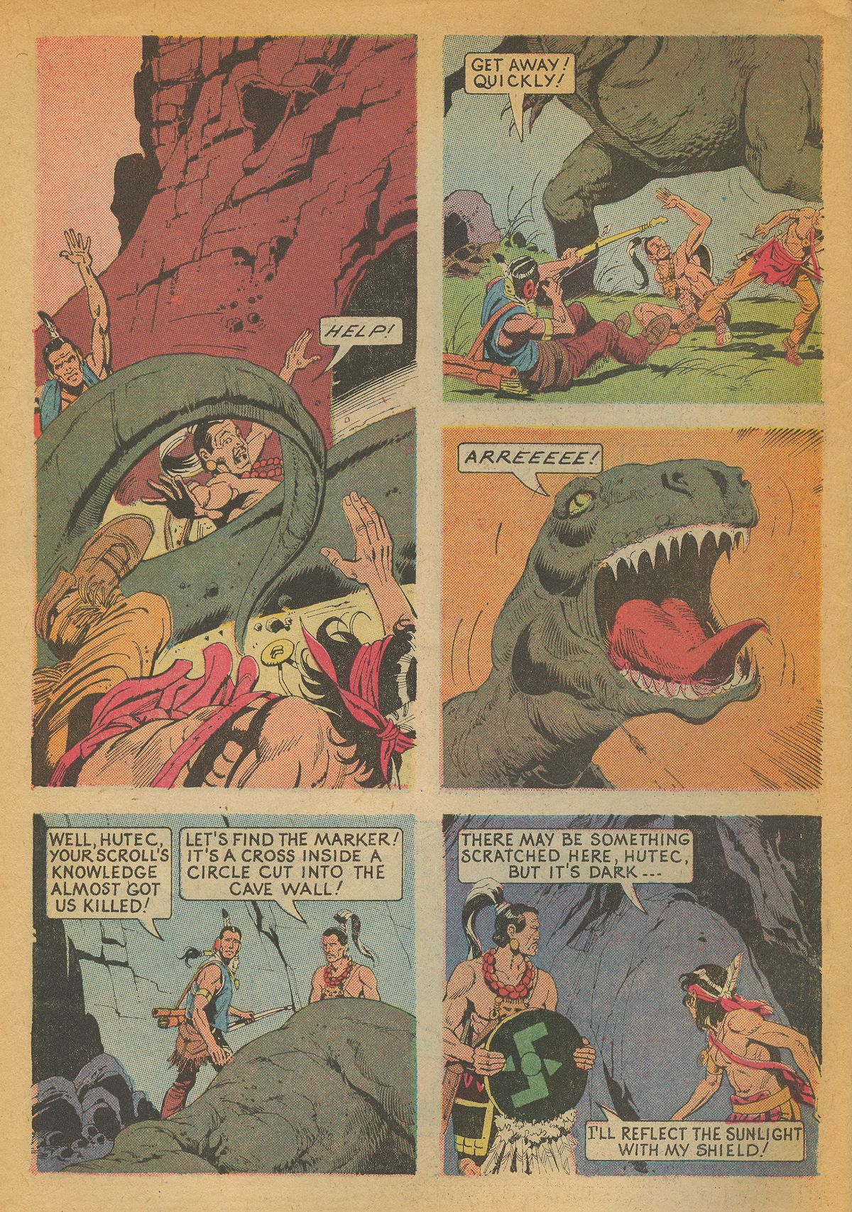 Read online Turok, Son of Stone comic -  Issue #85 - 6