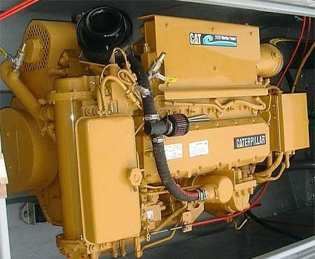 Caterpillar Equipment Marine CAT 3126 Pleasure Craft Engines
