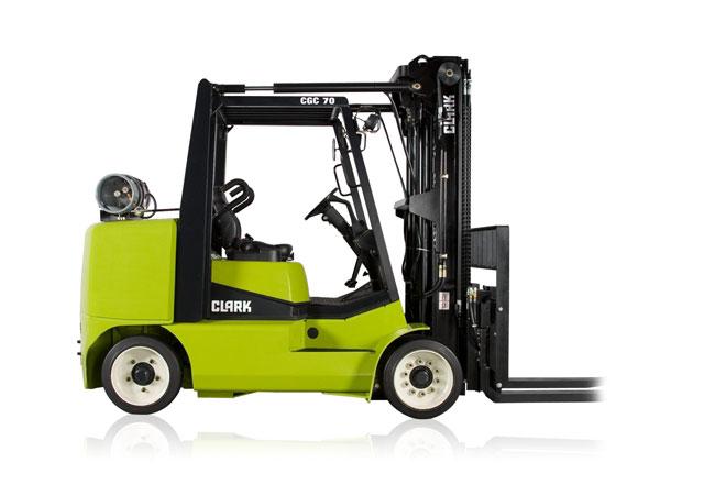Clark CGC70 7-Tons Forklift
