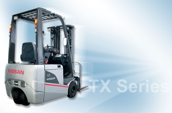 Nissan TX Series Electric Forklifts