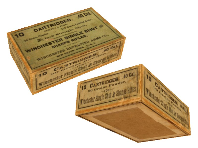 Box Label: Accidental Mysteries: Ammo Box Labels