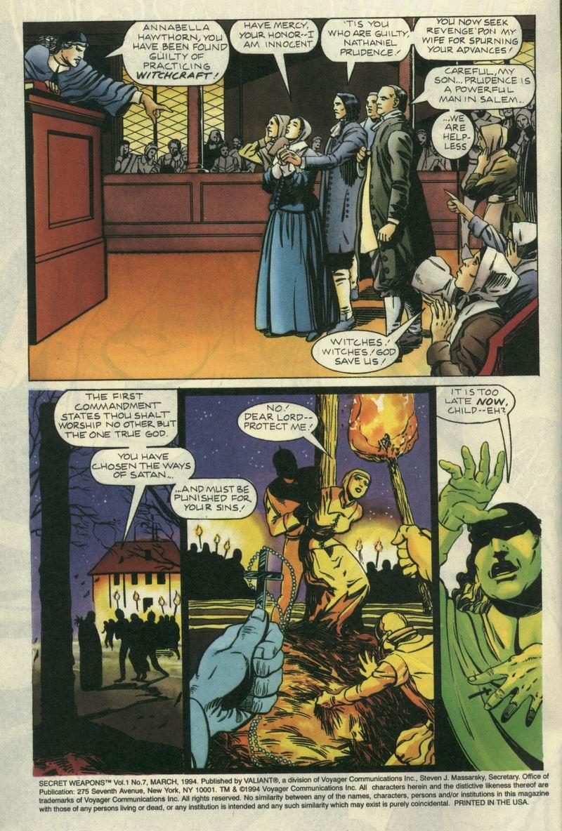 Read online Secret Weapons comic -  Issue #7 - 3