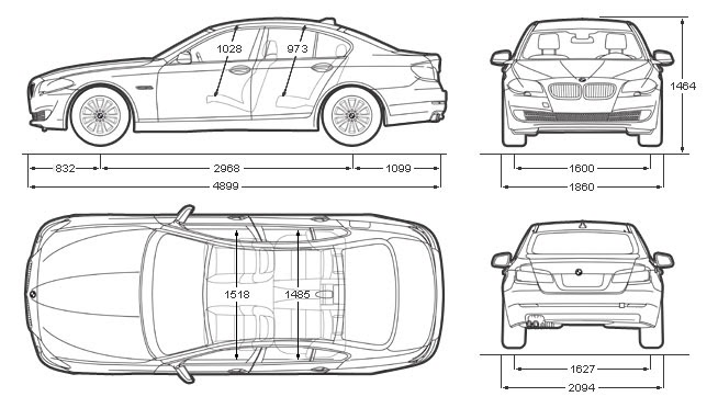 2nci el araba: 2011 BMW 520d Sedan
