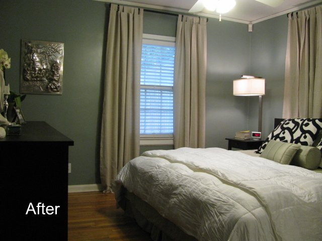 Simple Bedroom Curtains Room 4 Interiors
