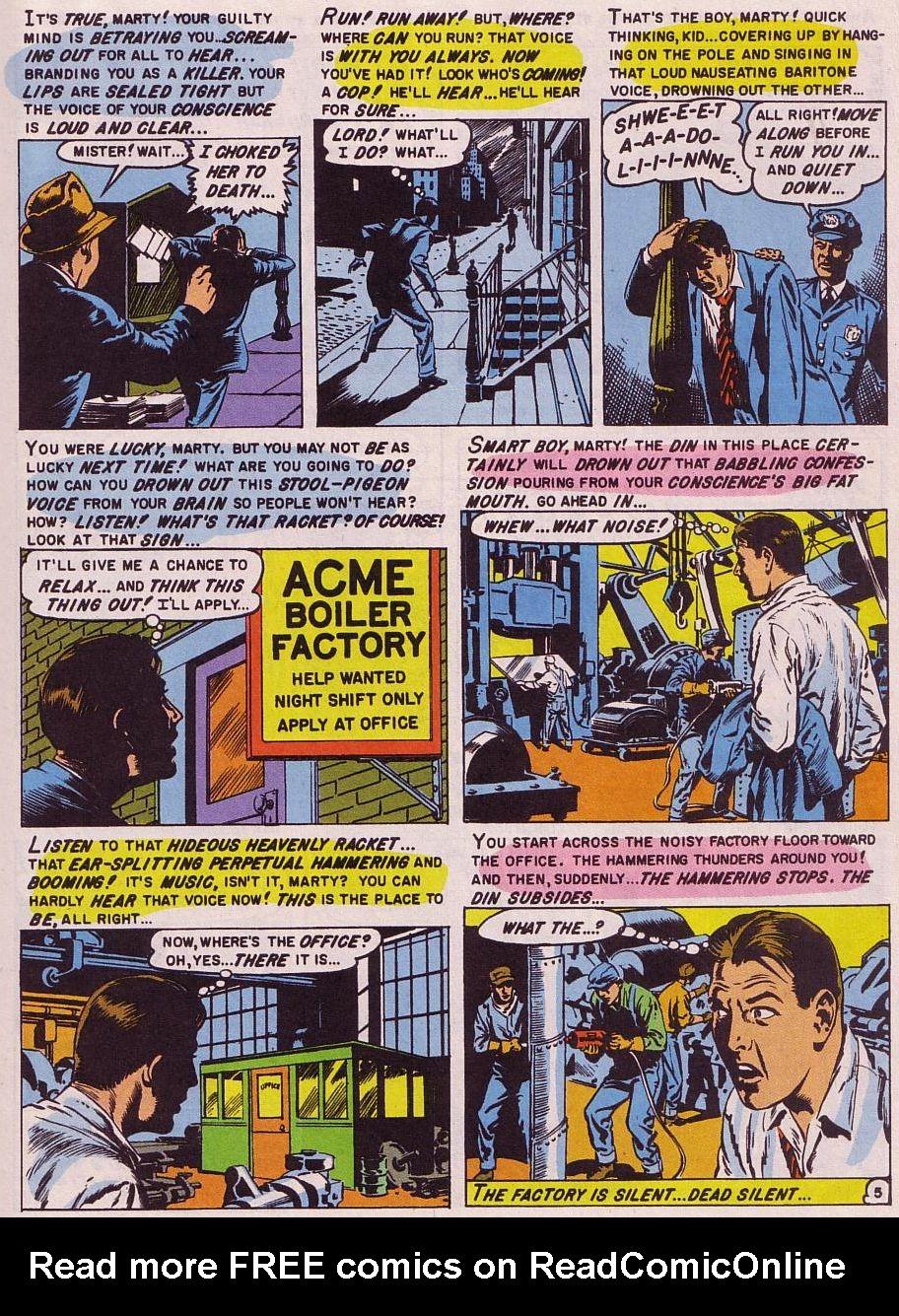 Read online Shock SuspenStories comic -  Issue #15 - 22