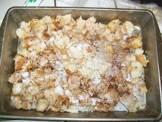 Homemade Freezer  Croutons