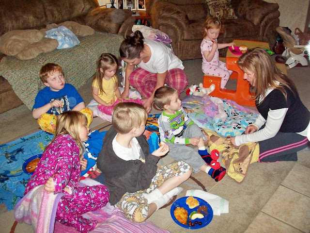 FHE: Pajama Movie Night