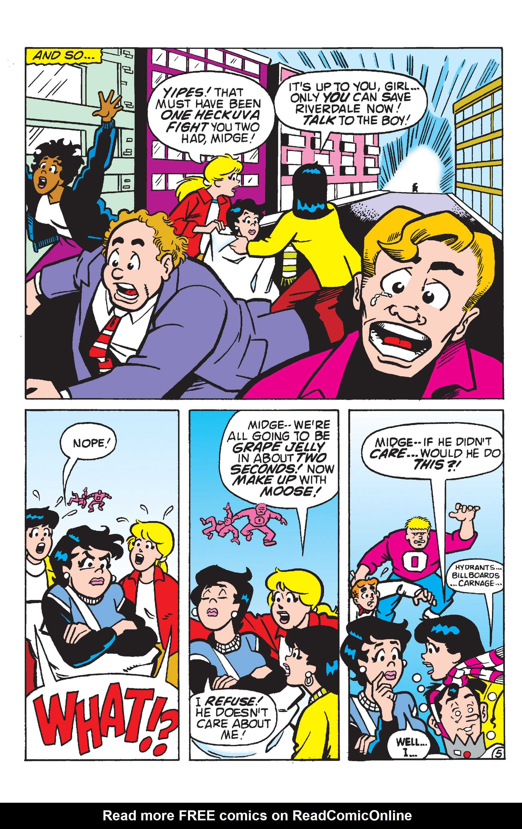 Read online Archie (2015) comic -  Issue #12 - 28